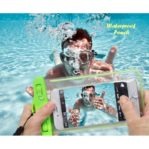 Waterproof Pouch GLOW IN THE DARK (Pouch anti air untuk tempat hp)